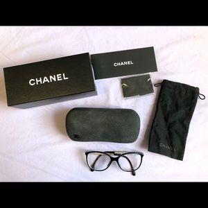 Chanel Oversized Bijou Eyeglasses Black 3304B